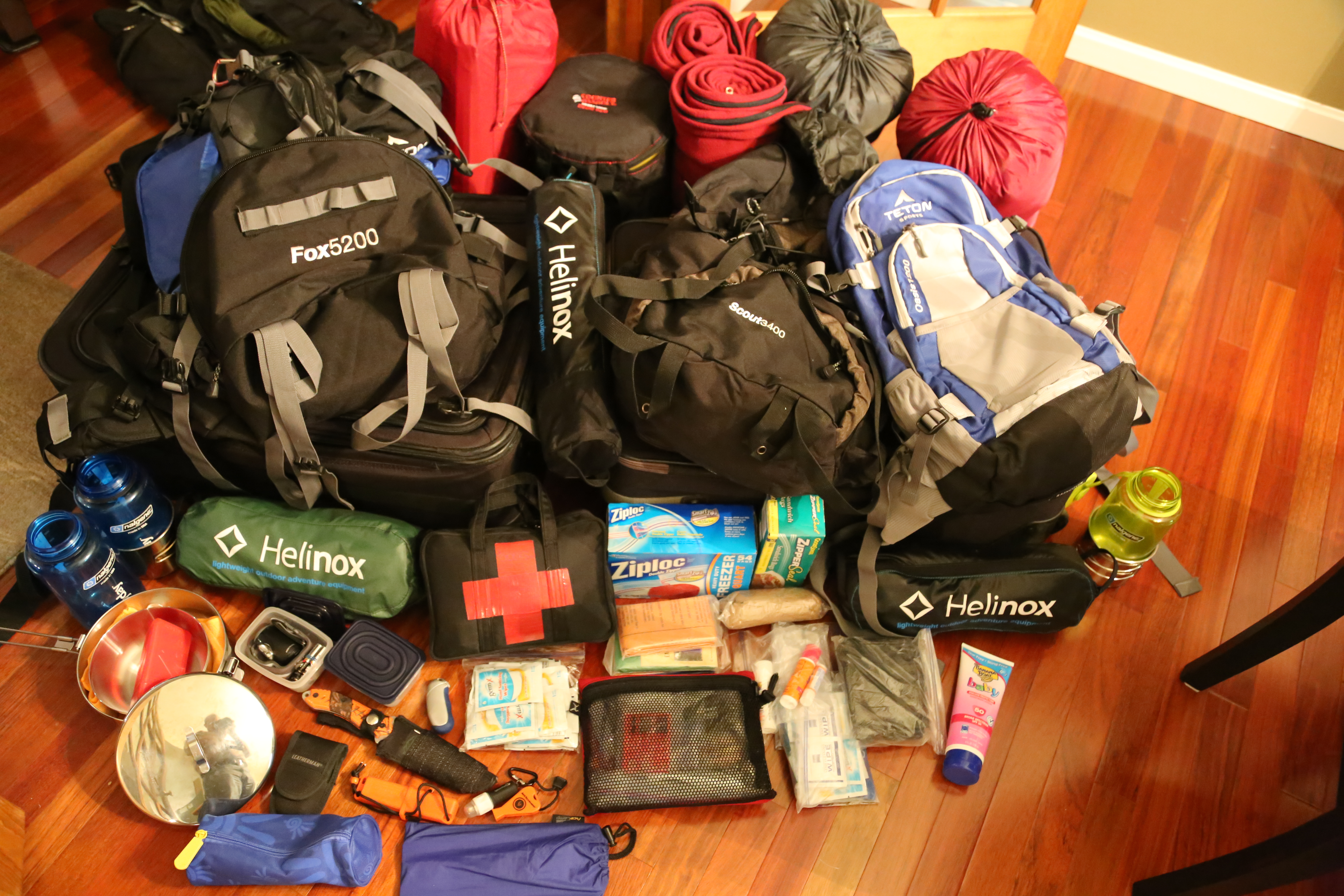 backpacking gear | todd the hiker