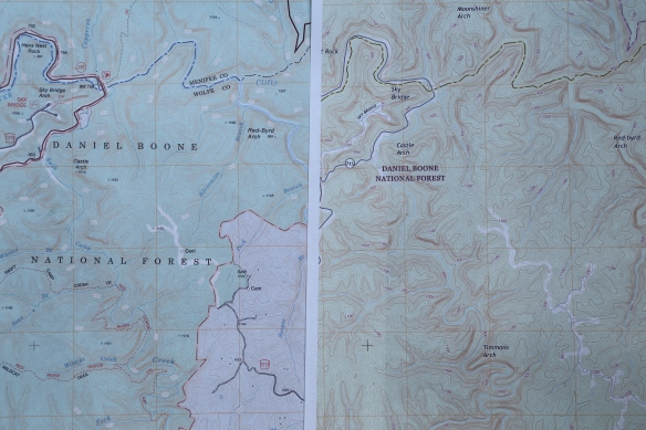 Topographic Maps Todd The Hiker - Us forest service topographic maps